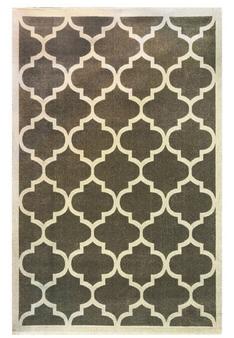 فرش ماشینی ساوین کد 4045 زمینه طوسی