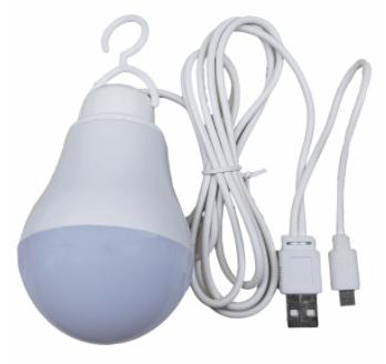 چراغ قوه آویز تاپ کور مدل USB-OTG