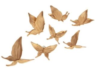 دیوارکوب طرح پروانه کد P01 مجموعه ۷ عددی