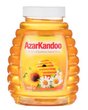 عسل طبیعی آذرکندو - 1.5 کیلوگرم