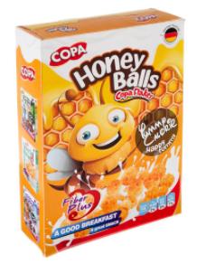 غلات صبحانه کوپا با طعم عسل - 300 گرم