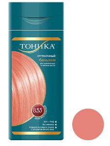 شامپو رنگ مو تونیکا شماره 8.53 حجم 150 میلی لیتر رنگ صورتی ملایم