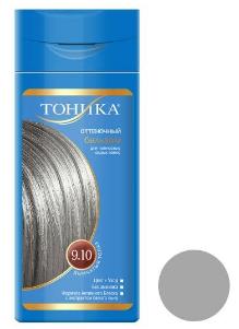 شامپو رنگ مو تونیکا شماره 9.10 حجم 150 میلی لیتر رنگ سنگ کوارتز دودی