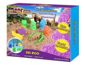 ساختنی شن جادویی موشن سند مدل باغ وحش سه بعدی