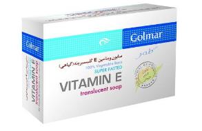 صابون گلمر گلیسیرینه مدل ویتامین E