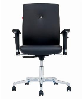 صندلی اداری نیلپر مدل SM810 چرمی