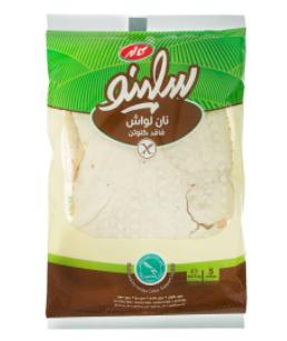 نان لواش بدون گلوتن سلینو - 350 گرم