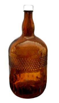 بطری شیشه ای کد 5L
