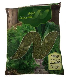 سبزی گشنیز خشک نیوگرین-100 گرم