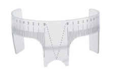 شابلون طراحی ابرو مدل 780