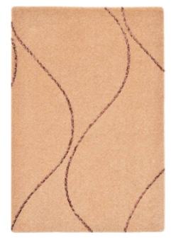 موکت ظریف مصور طرح کارون زمینه شکلاتی کد 9522