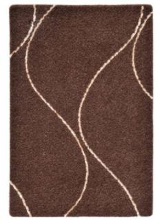 موکت ظریف مصور طرح کارون زمینه قهوه ای کد 9532