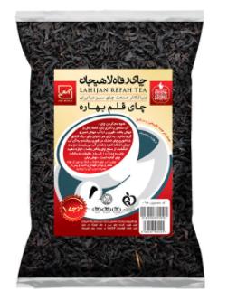 چای سیاه چای رفاه لاهیجان مدل قلم مقدار ا کیلوگرم