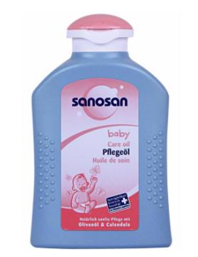 روغن بچه سانوسان مدل Baby Care Oil حجم 200 میلی لیتر