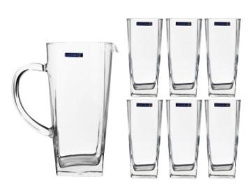 ست پارچ و لیوان 7 پارچه لومینارک مدل S100