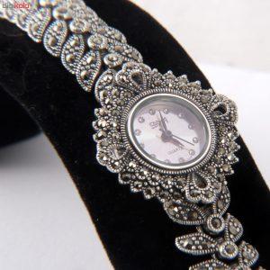 ساعت مچی عقربه ای نقره زنانه مدل GTA-199