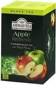 بسته چای میوه ای چای احمد مدل Apple Refresh